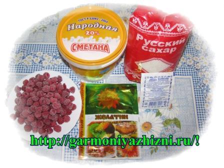 ингредиенты для суфле