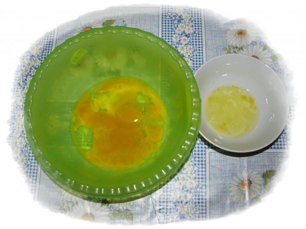 желтки оттделить от белков