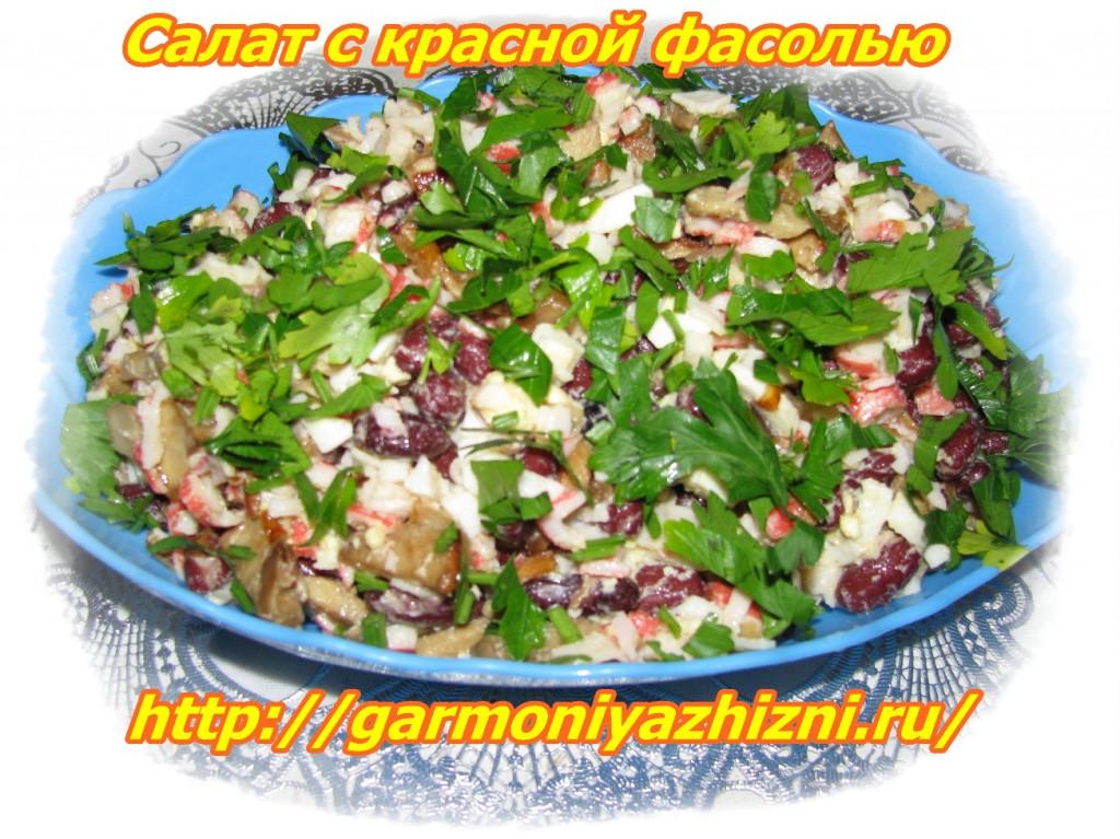 Рецепты из красной фасоли рецепты с фото
