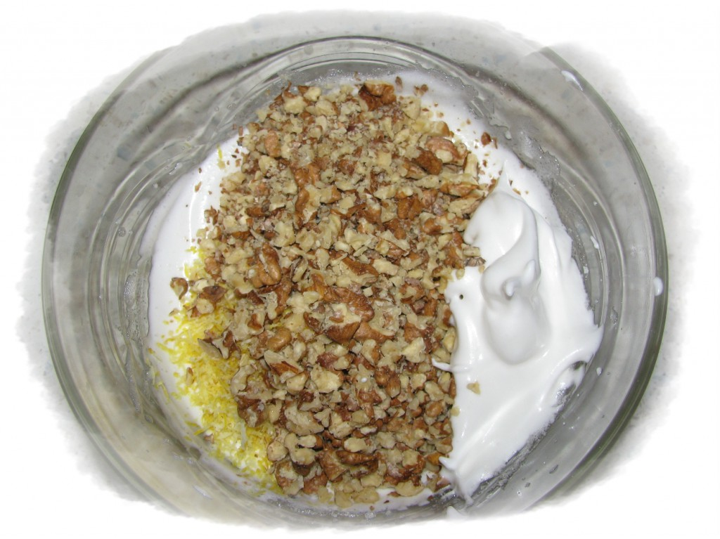 добавить грецкие орехи