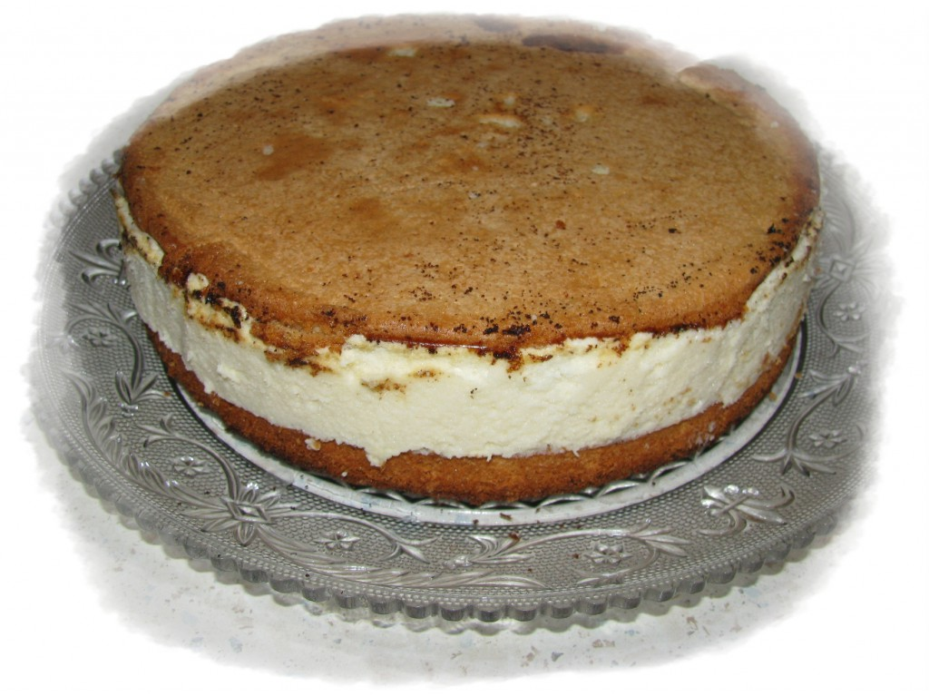 достать из формы застывший пирог