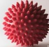 резиновый мяч с шипами для массажа