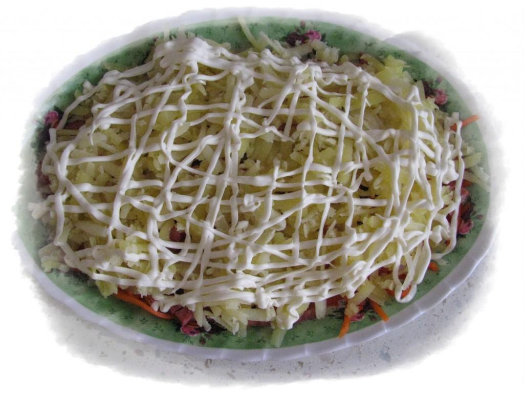 третий слой картофель