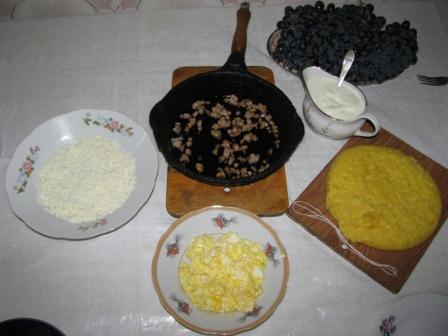 Мамалыга по молдавски