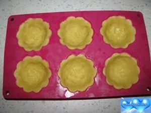 приготовление пирожного корзиночка