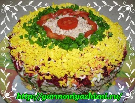 праздничные простые салаты