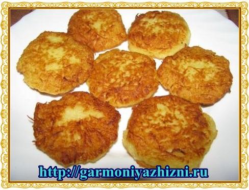 картофельные драники