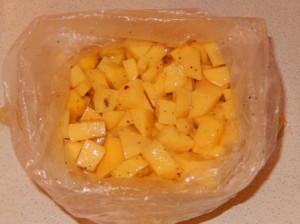 порезать картофель4