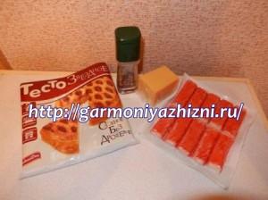 ингредиенты для краб пал