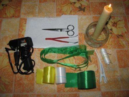 инструменты для создания заколки своими руками