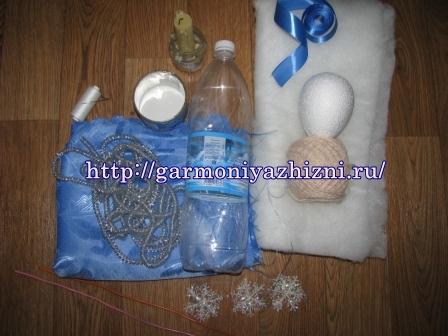 инструменты для создания снегурочки