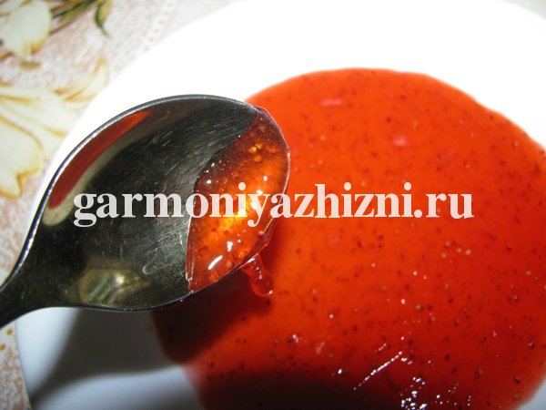 клубничный джем на зиму рецепт с фото