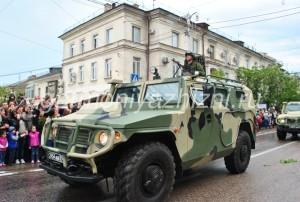 военные в машине