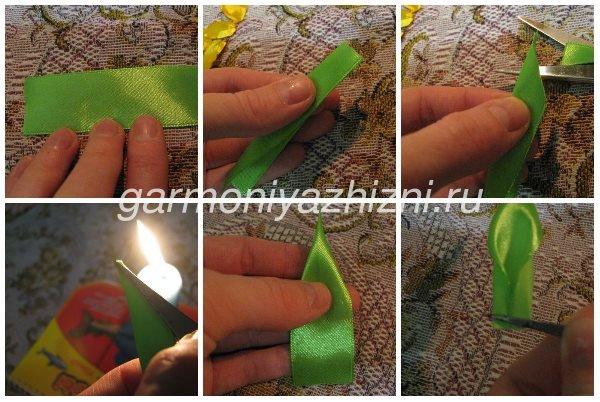 зелёный листик для нарцисса