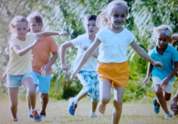 летние подвижные игры для детей