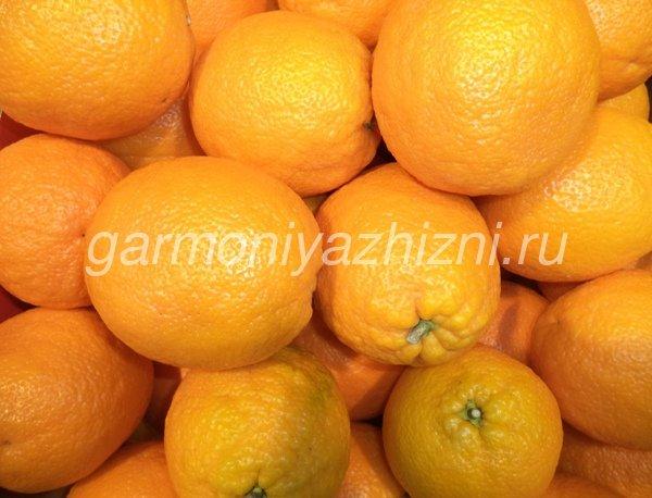 апельсины для коктейля