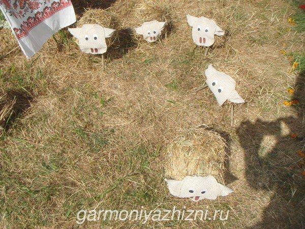 бычки из соломы