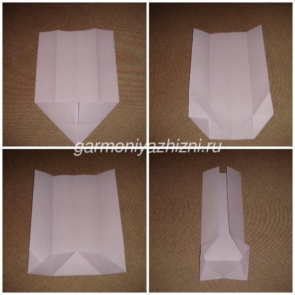 техника оригами на 23 февраля