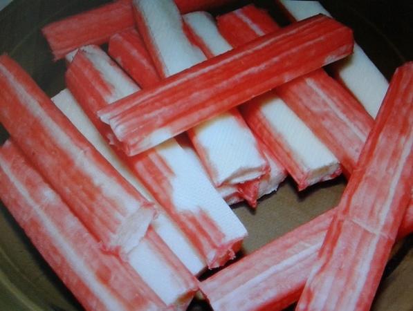 замороженные крабовые палочки