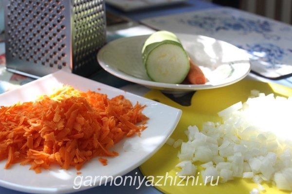 готовим кабачковые оладьи ингредиенты