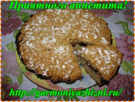 тёртый пирог с вареньем приятного аппетита 11