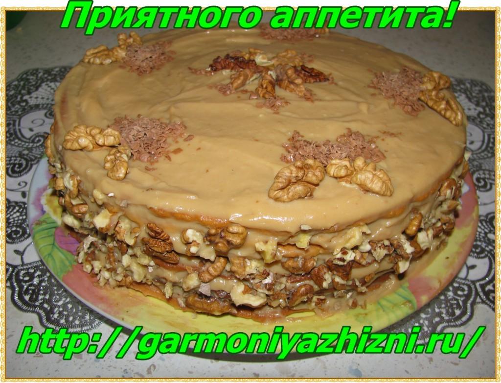 торт медовик приятного аппетита