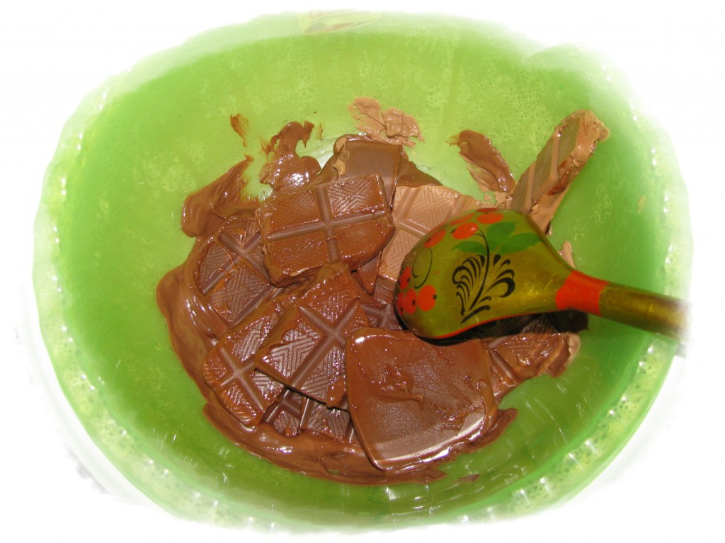 шоколад растопить на водяной бане