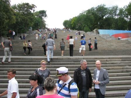 Потёмкинская лестница в Одессе
