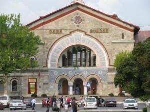 Железнодорожный вокзал в Кишенёве