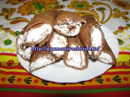 шоколадные блины на ряженке рецепт с фото