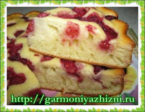 сладкий пирог на кефире