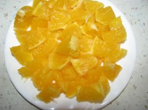 апельсины почистить