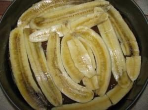 далее слой бананов