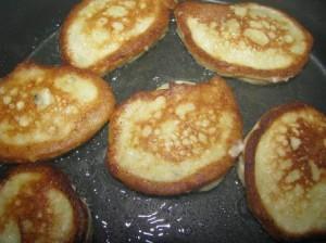 оладушки банановые
