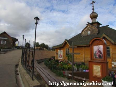 Святой источнмонаик в честь целителя Пантелеимона