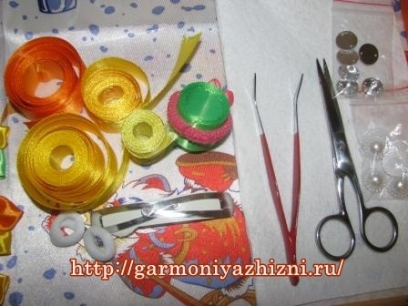 инструменты для канзаши