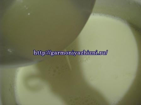 как заквасить молоко