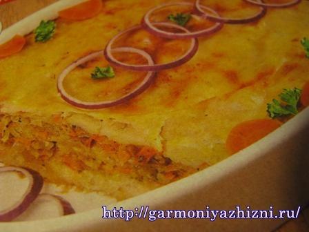 запеканка из квашеной капусты и картофеля