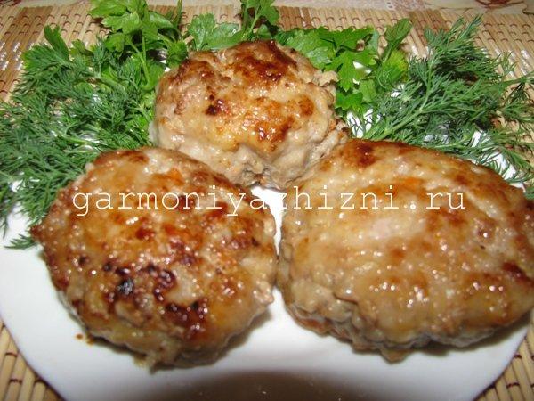 котлеты из свинины рецепт с фото