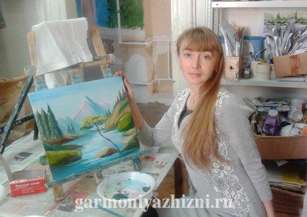 я и моя картина маслом