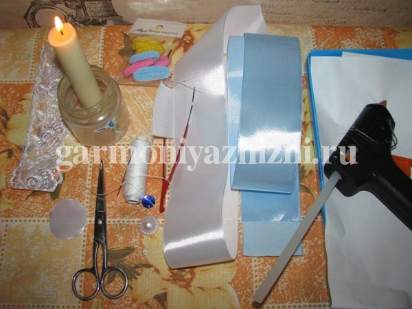 материалы для канзаши резинок