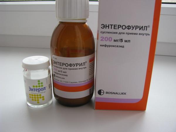 энтерофурил и энтерол при ротавирусе