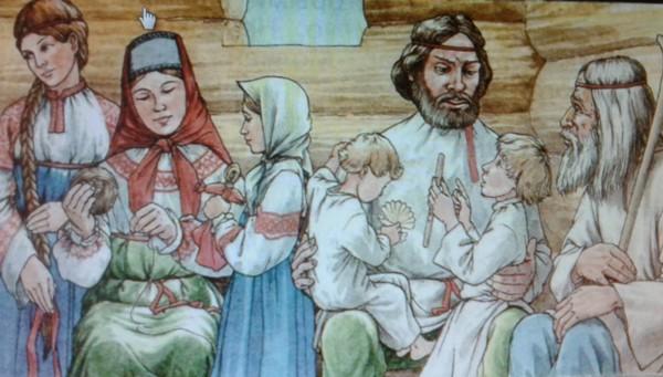как воспитывали детей на Руси