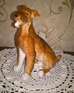 фигкрка собаки керамическая