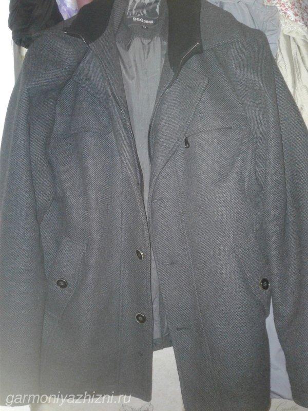 пальто из драпа