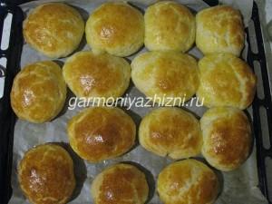 домашние булочки с сыром