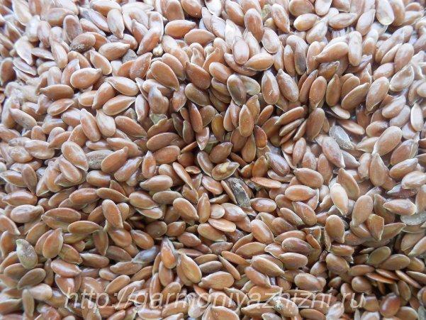 семя льна польза и вред