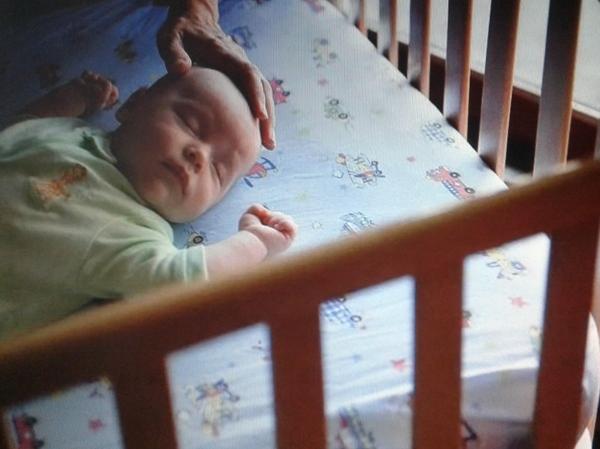засыпание в своей кроватке