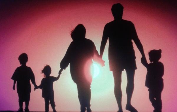многодетная семья трое детей